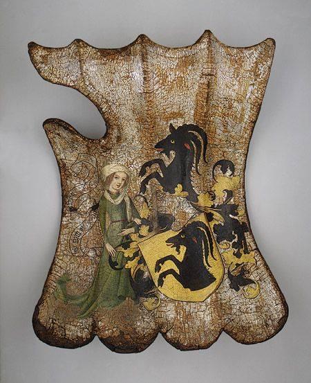 German Tournament Shield (Targe), c. 1450.jpg