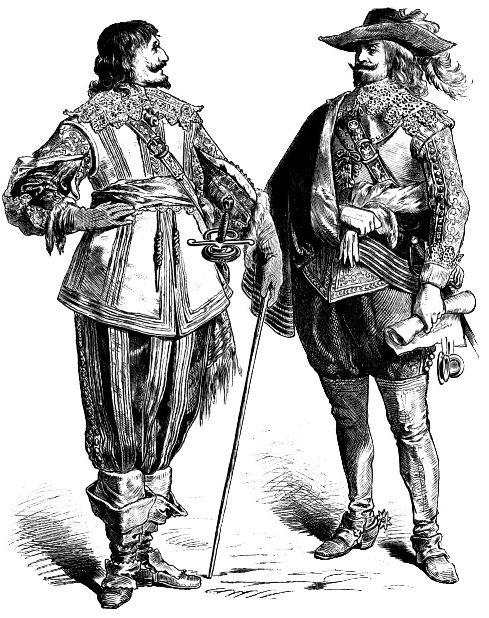 Костюмы знатных людей, первая половина 17 века.jpg