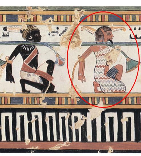 Нубиец и ливиец. Гробница Анен ок.1380 г. до н.jpg