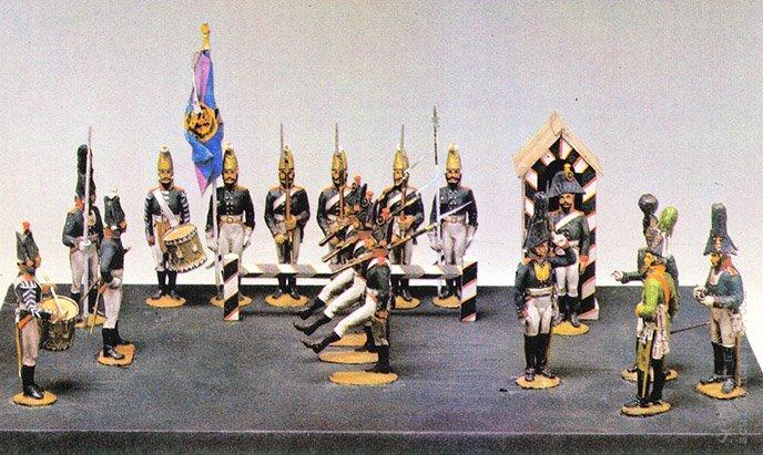 Учения Московского мушкетерского полка, 1804г Космолинский П. 1983г.jpg